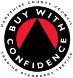 BWC fire extinguisher service accreditation, Hampshire