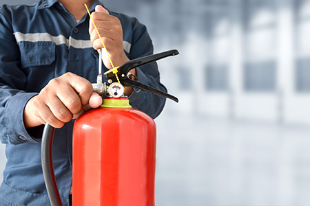 fire extinguisher service, Richard Thorpe Fire Safety Services